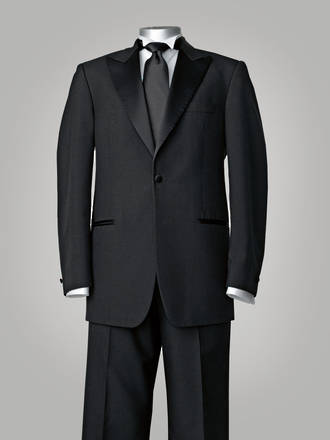 European Suit - Black tie / Formal