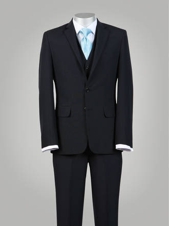 Navy Truman Slim fit Suit